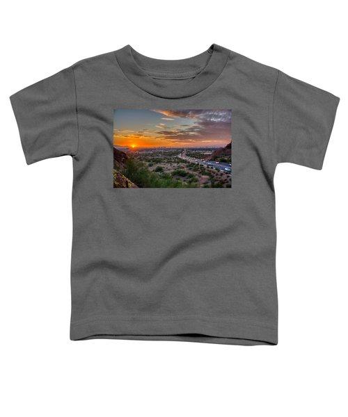 Scottsdale Sunset Toddler T-Shirt