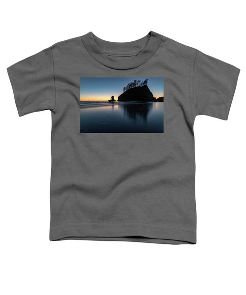 Sea Stack Silhouette Toddler T-Shirt
