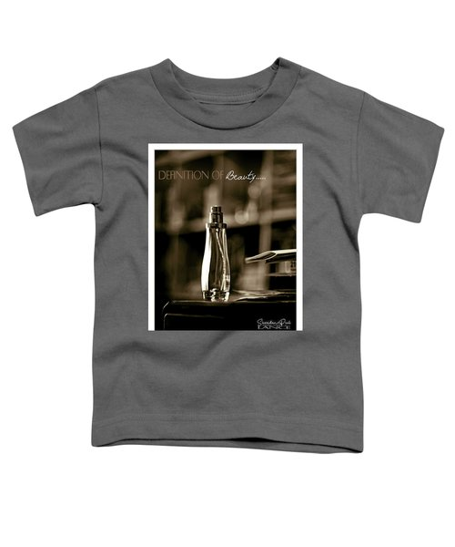 Sepia Definition Of Beauty Toddler T-Shirt