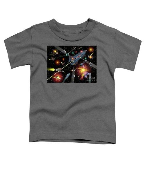 Sferogyls Space Battle Group Toddler T-Shirt
