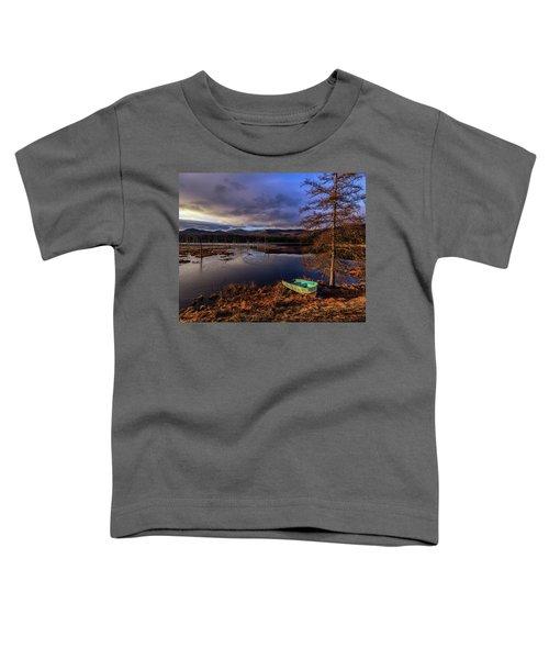 Shaw Pond Sunrise - Landscape Toddler T-Shirt