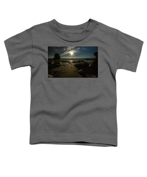 Shell Beach Sunburst Toddler T-Shirt