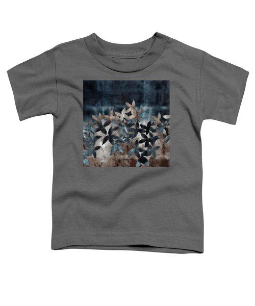 Shibori Leaves Indigo Print Toddler T-Shirt