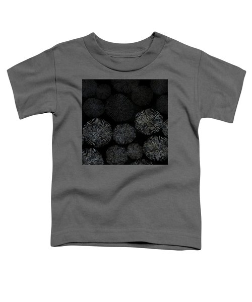 Shibori Sea Urchin Burst Pattern Toddler T-Shirt
