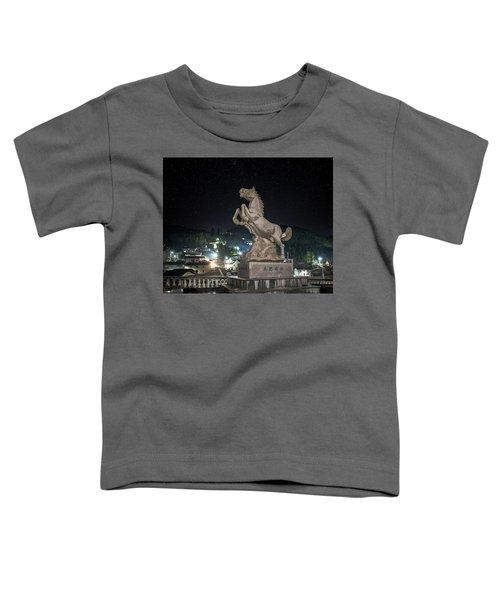 Shima Village Starry Night Toddler T-Shirt