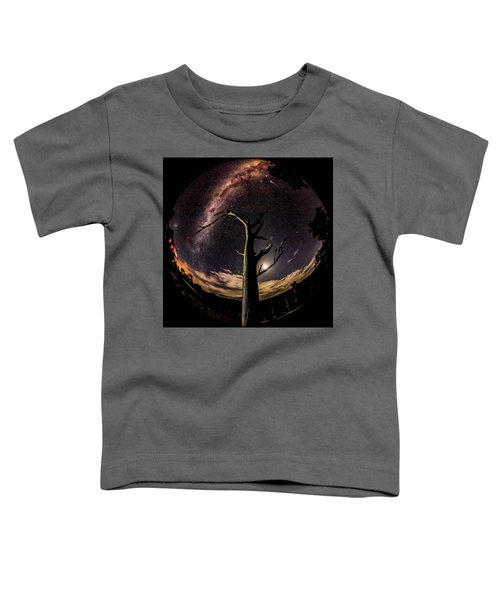 Shooting Stars And Milky Way Toddler T-Shirt