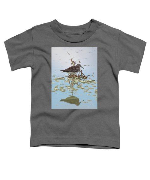 Shorebird Reflection Toddler T-Shirt
