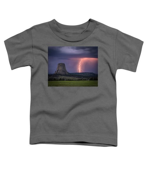 Showers And Lightning Toddler T-Shirt
