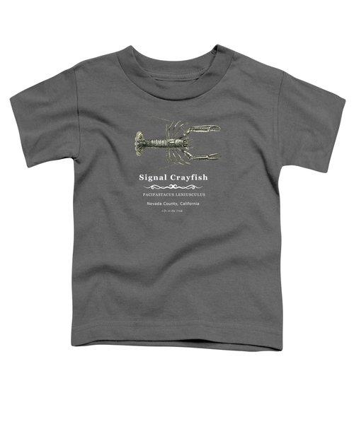 Signal Crayfish Toddler T-Shirt