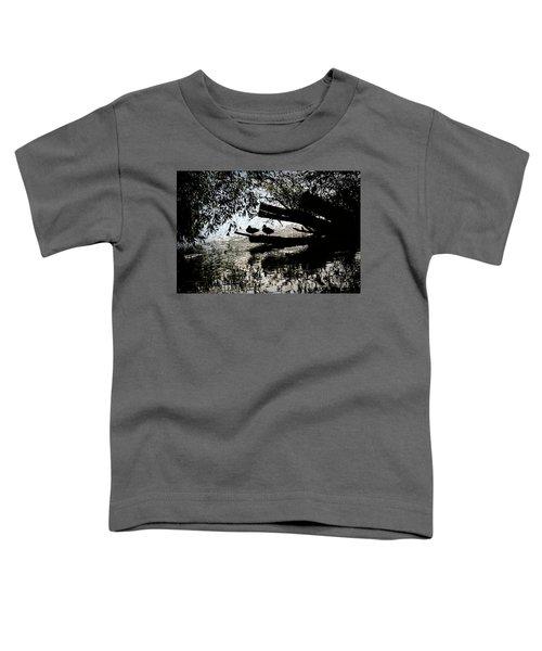 Silhouette Ducks #h9 Toddler T-Shirt