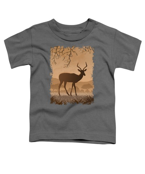 Silhouette Impala Toddler T-Shirt
