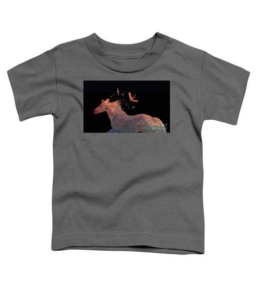 Sillouette Fantasy Toddler T-Shirt