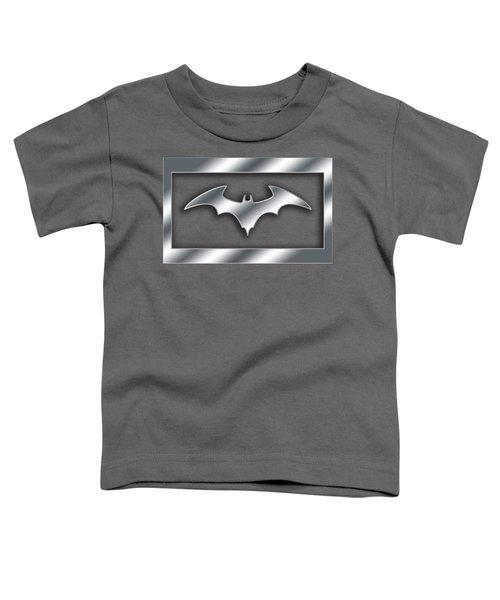 Silver Bat Transparent Toddler T-Shirt