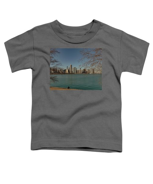 Sitting On A Summer Day Toddler T-Shirt