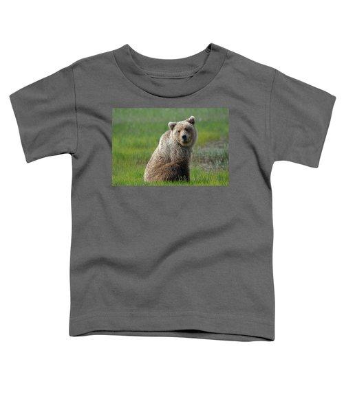 Sitting Peacefully Toddler T-Shirt