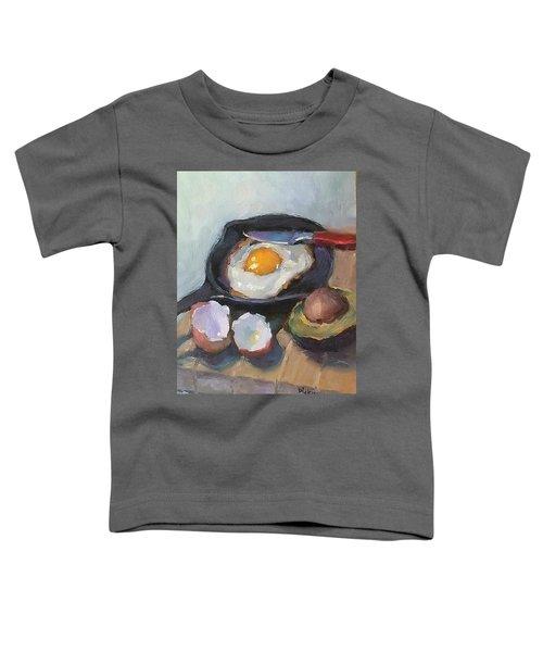 Skillet Breakfast Toddler T-Shirt