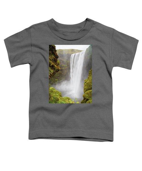 Skogafoss Iceland Toddler T-Shirt