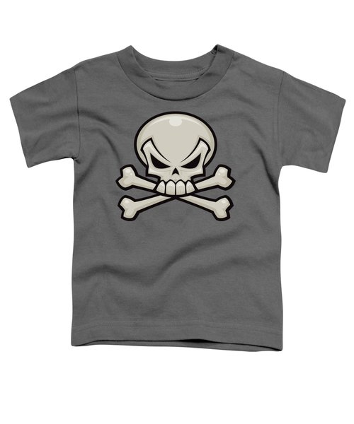 Skull And Crossbones Toddler T-Shirt