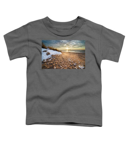 Snow And Sand In Frankfort Toddler T-Shirt