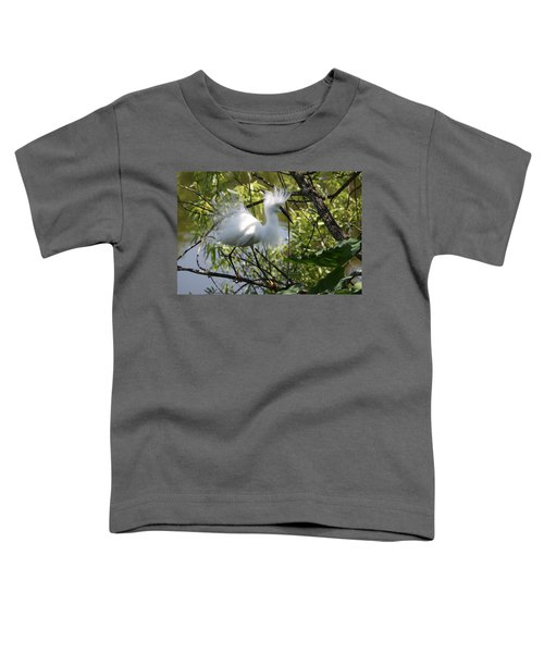 Snowy Egret 4031202 Toddler T-Shirt