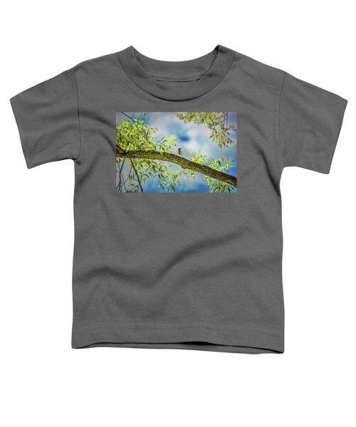 Someone Coming? #i2 Toddler T-Shirt