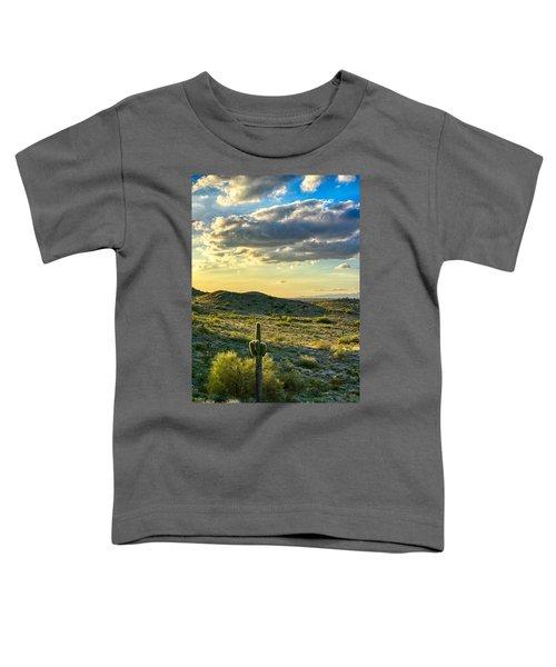 Sonoran Desert Portrait Toddler T-Shirt