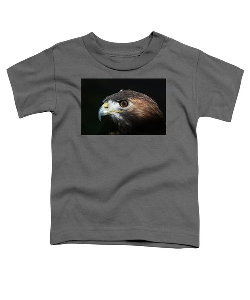 Sparkle In The Eye - Red-tailed Hawk Toddler T-Shirt