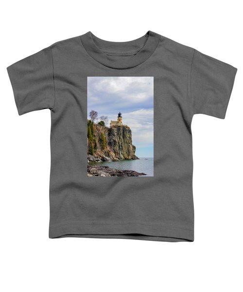 Split Rock Lighthouse Portrait Toddler T-Shirt