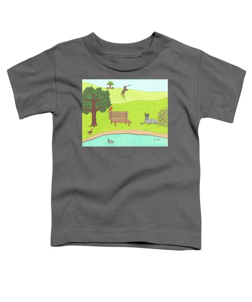 Spring Is In The Air Toddler T-Shirt