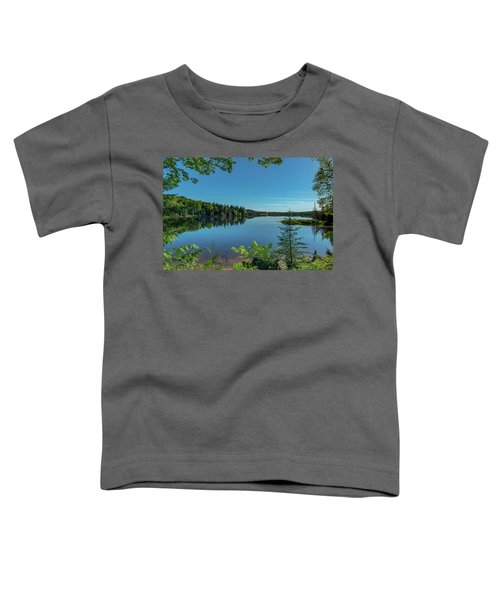 Spring Morning On Grand Sable Lake Toddler T-Shirt