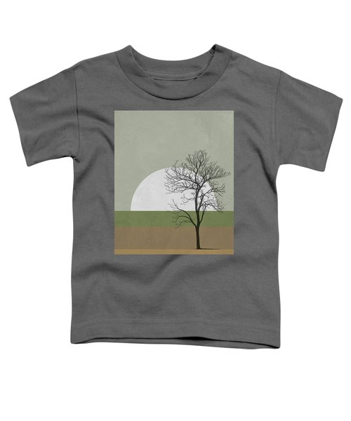 Spring Sunset Tree Toddler T-Shirt