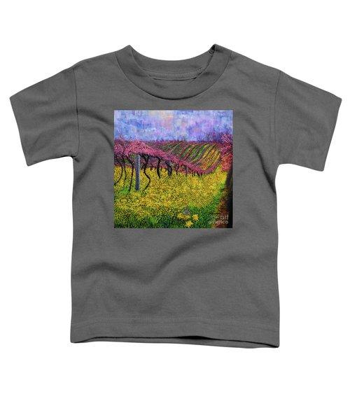 Spring Vineyard Toddler T-Shirt