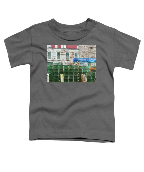 Stacked Lobster Traps Toddler T-Shirt