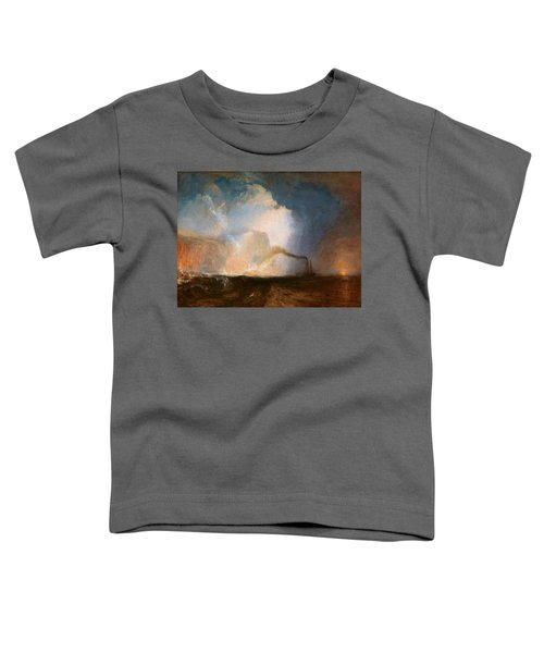 Staffa, Fingal's Cave - Digital Remastered Edition Toddler T-Shirt