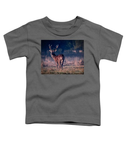 Stag Eating Toddler T-Shirt