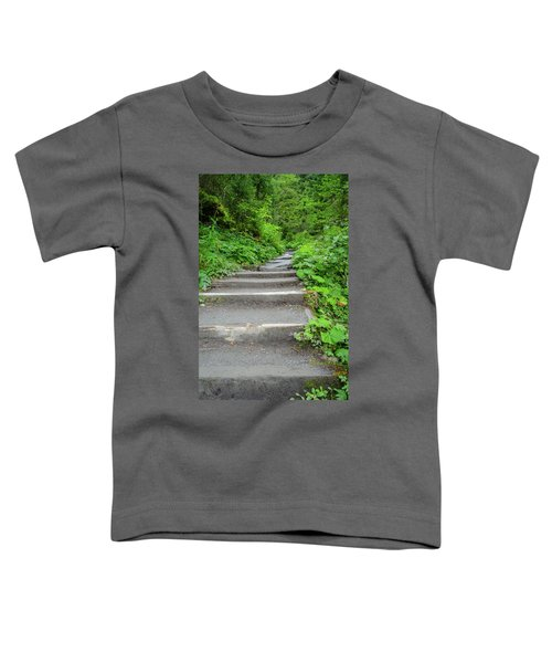 Stairs To The Woods Toddler T-Shirt