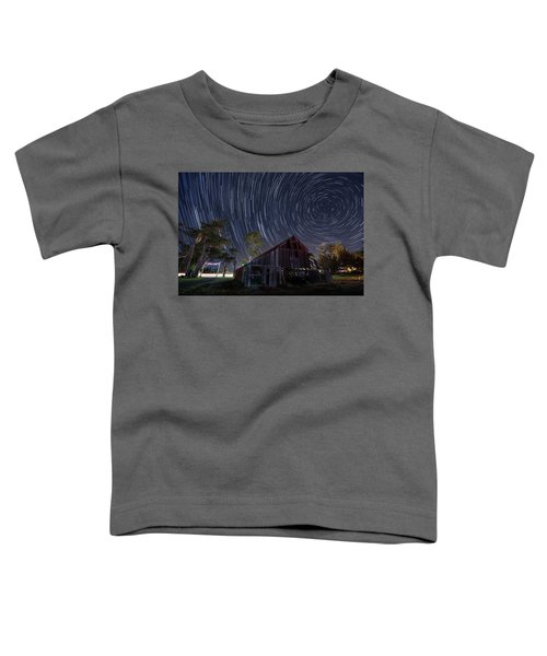 Star Trails Over Bonetti Ranch Toddler T-Shirt