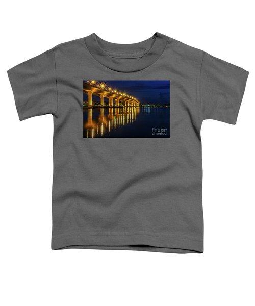 Starburst Bridge Reflection Toddler T-Shirt