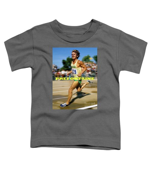 Steve Prefontaine, The Legend, Oregon Ducks Toddler T-Shirt