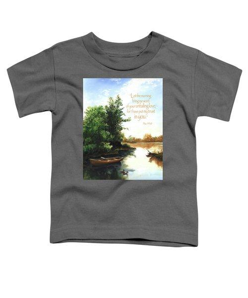 Still Waters Toddler T-Shirt