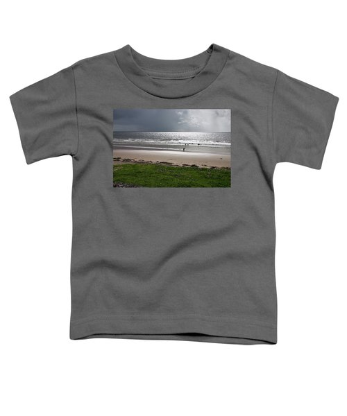Storm Brewing Over The Sea Toddler T-Shirt