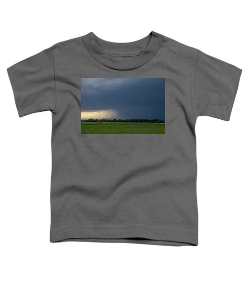 Storm Chasing West South Central Nebraska 002 Toddler T-Shirt