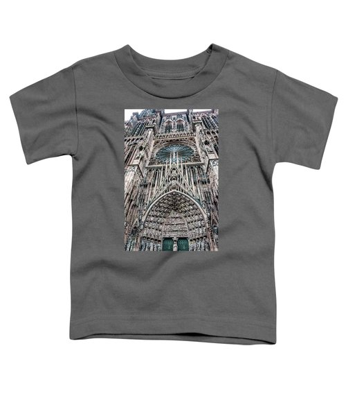 Strasbourg Cathedral Toddler T-Shirt