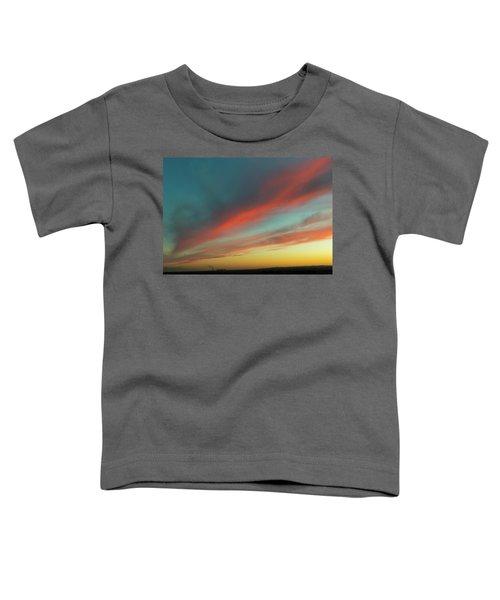 Streaming Sunset Toddler T-Shirt