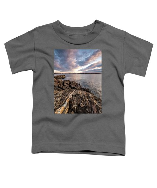 Striations. Leading Lines In The Rocks Toddler T-Shirt