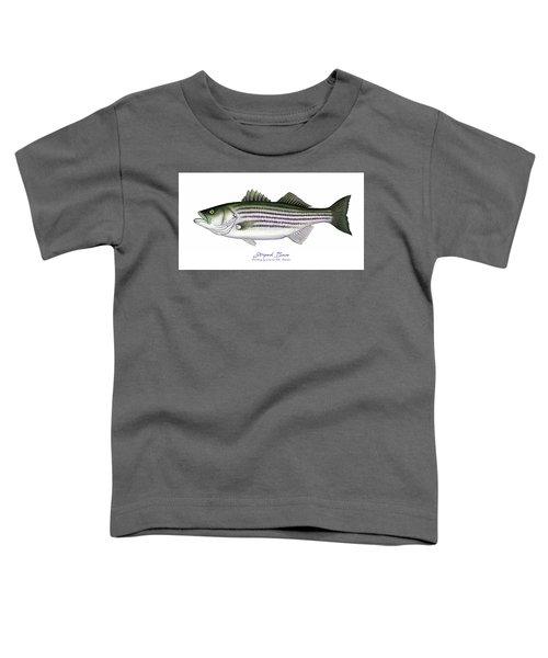 Striped Bass Toddler T-Shirt