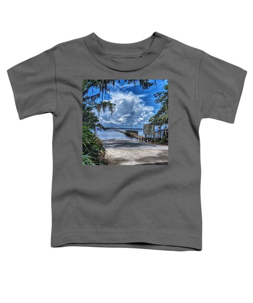 Strolling By The Dock Toddler T-Shirt