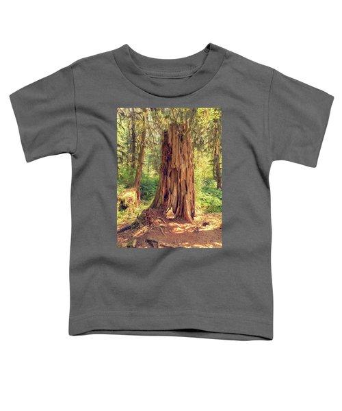 Stump In The Rainforest Toddler T-Shirt