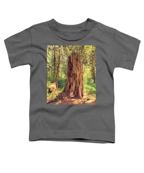 Stump In The Rainforest Toddler T-Shirt
