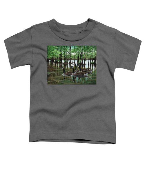 Summer Among The Cypress Toddler T-Shirt